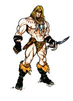 Redesign Jungle He-Man Color by CJEdwardsArt
