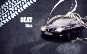 Seat Ibiza 6j - Wallpaper by P3r0