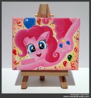 Pinkie Pie (Mini Canvas) by Onyrica