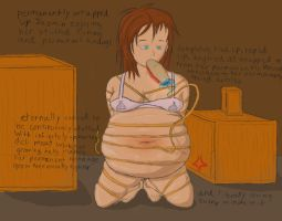 Hogtied by Xx-Dusty-Dragon-xX