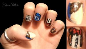 Doctor who nails by Qtfiddler