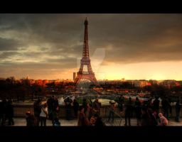 La Tour Eiffel - 3 by SoundOfSilence87
