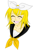 .: Rin Kagamine :. by art-meets-words