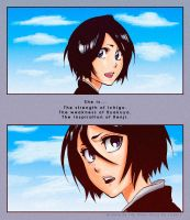 Rukia Kuchiki - She is... by Erian-7