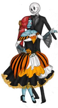 Jack and Sally by tellmeprettylies
