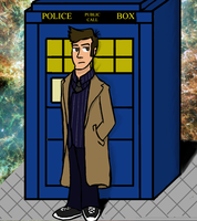 The 10th Doctor by SpiderGman