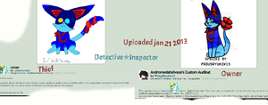 Stolen copyright and artwork. by Detective-Inspector