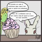 Sprinkles Contain Dead Animals by Herbivoree