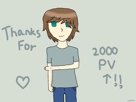 Thanks for 2000+ PV!! by TheYamiClaxia