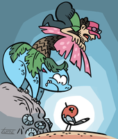Wild Fletchling Appeared! by kittyninjafish