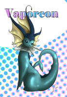 Eeveelution Vaporeon by jaclynonacloud
