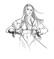 Shirtless Mink by Pookystar