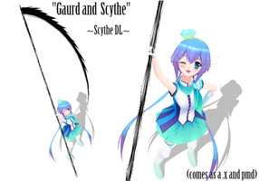 -Guard and Scythe- Scythe DL by cristle1235