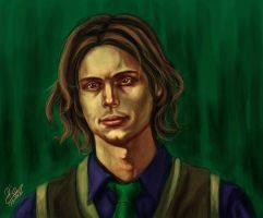 Reid Portrait 3 by Riemea
