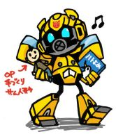 Chibi movie BumBleBee by piyo119