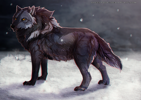Uncle Wolf by creepyzcat