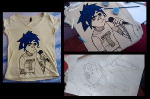 Mi Polera de 2D by CataNightray