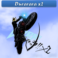 Durarara x2 ICO, PNG & Folder by bryan1213