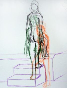 Life Drawing Motion 2 by cardcaptorclaire