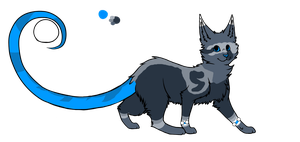 100 Themes - Glowcat Adopt - Adopted by Feralx1