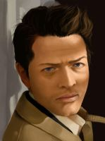 Exercise in Castiel by keiran121