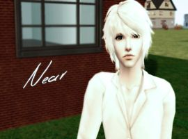 Death Note- Near in Sims 2 by NegativeDanna