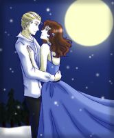 Carlisle and Esme- Moonlight by agent-indigo