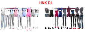MMD clothes dl by RainbowPlastic