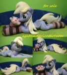 Life-size  (laying down) Derpy Hooves plush SOLD by agatrix