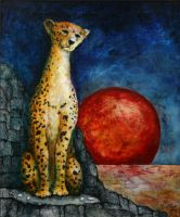 A Cheetah at the End of Time by Ray-Paul