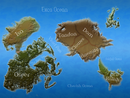 Asparas World Map by Accyber