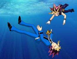 mmd Hold on Yugi by stlbabie24