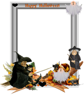 Halloween Frame png by mysticmorning