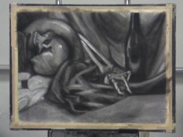 Charcoal Still Life by marron