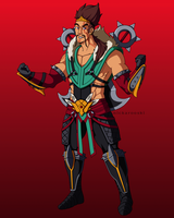 Draven the Glorious Executioner by Nickarooski