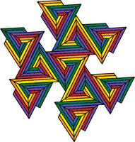 Spiral Pyramid Color by pureuniversalflow