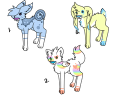 .:Cheap Adoptable Creatures:. [CLOSED] by Kyarii-chan