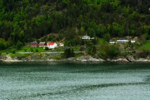 Sailing the fjords to Skjolden 25 by abelamario