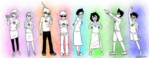 HOMESTUCK KIDS by Vasheren