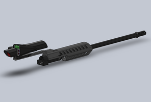 Concept Sniper Rifle by GundamGPO3