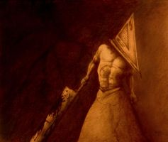 Pyramid Head by Tsuhikari