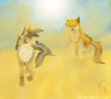 Sandstorm approaching-Gift by Karu12