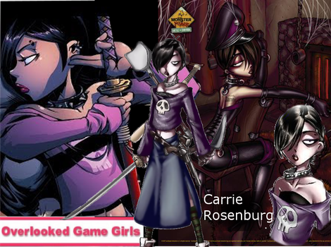 OLGG: Carrie Rosenburg from Monster Madness by OverlookGameGirls