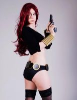 Black Widow Pin Up pt4 by MsCharCosplay