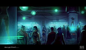 Blue Light District by AdamRyomaTazi