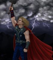 Thor Commission by MelodicMadness