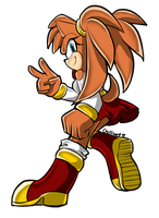 Sonic Channel Style by aechia