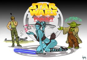 StarWars Parody: Aayla Secura by hypang