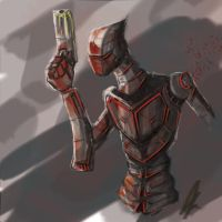 Robot speed paint by oozy5000