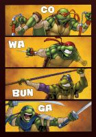 Ninja Turtles by logicfun